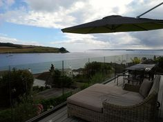 View over the sea at Dreamcatchers self catering house in St Mawes Cornwall by Libertylondongirl,
