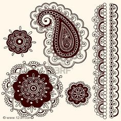 I want a large paisley somewhere on my lower arm. In black and greens though.