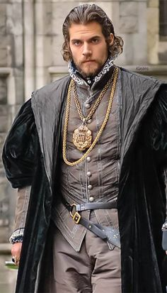 """The Tudors"" (Charles Brandon played by Henry Cavill) 