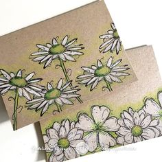 I always love the look of colored pencils on kraft cardstock. Simple but effective. Pretty Cards, Cute Cards, Diy Cards, Handmade Greetings, Greeting Cards Handmade, Card Making Techniques, Card Sketches, Watercolor Cards, Paper Cards