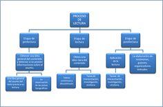 Esquemas y mapas conceptuales sobre comprensión lectora y escritura - Idioma I y II de ITV Lily, David, Texts, Maps, Vestidos, Measurement Chart, Cleaning Hacks, Reading Comprehension, Orchids