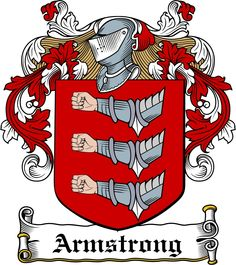 Armstrong Family Crest | Armstrong Family Crest / Armstrong Coat Of Arms