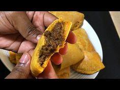 How to make Jamaican Beef Patties, flaky crust 🇯🇲 - YouTube Jamaican Cuisine, Jamaican Dishes, Jamaican Recipes, Jamaican Beef Patties, Jamaican Patty, Carribean Food, Caribbean Recipes, Trinidad Recipes, Patties Recipe