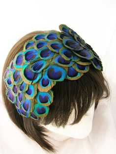 My nephew's girlfriend loves peacock feathers. I'll have to show this to him :-)