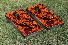 Oregon State OSU Beavers Cornhole Game Set Fight Song Version -- Check out this great product.