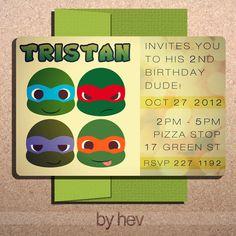 56 Best Teenage Mutant Ninja Turtle Party Images Ninja Turtles