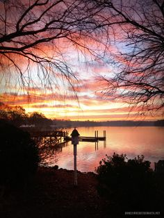 Winter Solstice Sunrise LakeNorman #sunrise