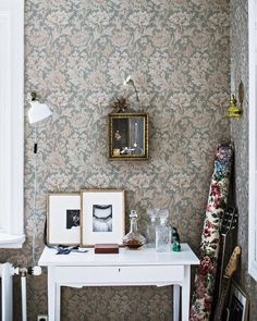 se/mokkasin the wallpaper! Inspirational Wallpapers, Interior Decorating, Interior Design, Bedroom Vintage, Interior Exterior, Wall Wallpaper, Interior Inspiration, Living Spaces, Sweet Home