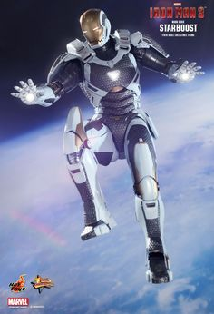 Hot Toys : Iron Man 3 - Starboost (Mark XXXIX) 1/6th scale Collectible Figure  #starboost #marvel #ironman