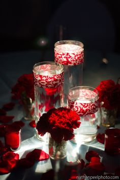 1000 Images About A Red Black Tie Wedding On Pinterest