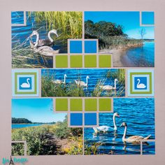 Lea France Scrapbooking Community- European Photo Layout Stencils has members. Welcome to Lea France Scrapbooking Community! Beach Scrapbook Layouts, Vacation Scrapbook, Scrapbook Designs, Scrapbook Supplies, Scrapbooking Layouts, Scrapbook Sketches, Scrapbook Templates, Scrapbook Paper Crafts, Scrapbook Cards