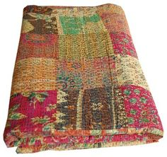 Indian Bedding - asian - quilts - london - Majestic India