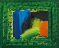 Howard Hodgkin, The Complete Paintings, pagina 265 x cm - Oil on wood) Howard Hodgkin, Hans Peter, English Artists, Oil Portrait, Paintings I Love, Art File, Mark Making, Drawing Reference, Yorkie