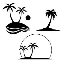 Free Palm Tree SVG Cut File