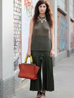 Culottes: Wie trage ich die neue Trend-Hose?