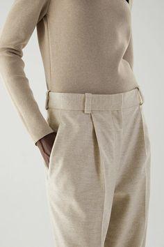 Women Wear, Trousers, Turtle Neck, Legs, Wool, Sweaters, How To Wear, Fashion, Trouser Pants