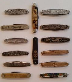 PPIE: Knives: vintage: 1915: