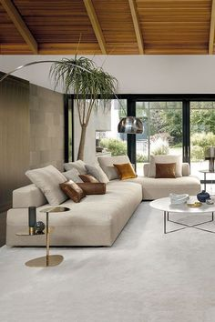 MONOPOLI sofa offers maximum freedom of combination and maximum seating comfort . MONOPOLI sofa offers maximum freedom of combination and maximum seating comfort . Cozy Small Living Room Decor Ideas For Your Apartment Antique Living Rooms, Cozy Living Rooms, Home Living Room, Interior Design Living Room, Living Room Designs, Living Room Decor, Design Room, Apartment Living, Living Room With Plants