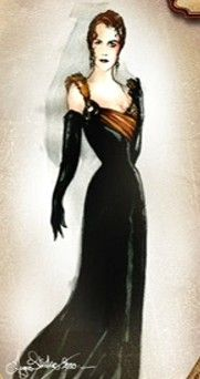 Satine's Gothic Tower Dress, Moulin Rouge. Movie Costumes, Character Costumes, Halloween Costumes, Satine Moulin Rouge, Le Moulin, Costume Design, Couture Fashion, Costume Ideas, Gothic