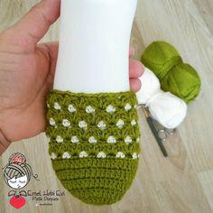 Crochet Cord, Crochet Shoes, Crochet Slippers, Crochet Bow Pattern, Baby Booties, Crochet Designs, Knitting Socks, Crochet Flowers, Fingerless Gloves