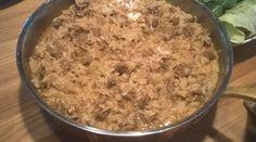 Nyhtökauraa ja riisiä Risotto, Macaroni And Cheese, Grains, Rice, Ethnic Recipes, Food, Mac Cheese, Mac And Cheese, Hoods