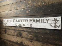 Shed Customised Engraved Wooden House Sign Design Solid Oak Boat Stable