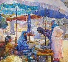 geoffrey wynne paintings | Geoffrey Wynne Acuarelas - Watercolours