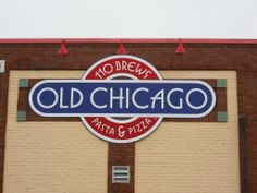 Old Chicago Flat Lexan Sign  #oldchicago