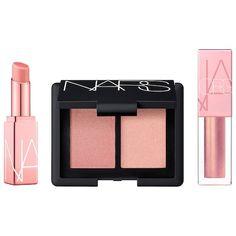 NARS Orgasm Mini Set - My list of the most creative makeup secrets Make Up Palette, Colors For Skin Tone, Lip Colors, Sephora Makeup, Makeup Kit, Face Makeup, Beauty Tips For Face, Beauty Hacks, Beauty Care
