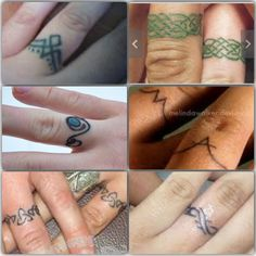 I like the celtic knot work one in the upper right, and the triscele with tribal work on the lower left.