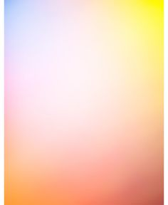 colour blur / peach pink blue yellow orange