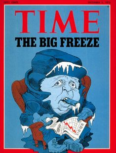1974 Shock News: Global Cooling To Kill One Billion People -- fromThe Global Warming Policy Foundation (GWPF). Weather Change, Climate Change, Liberal Memes, Global Cooling, Big Freeze, Scary Facts, Time Magazine, Magazine Covers, Political Topics