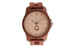 Drewniany zegarek - Seria Urban - Massaranduba - Plantwear