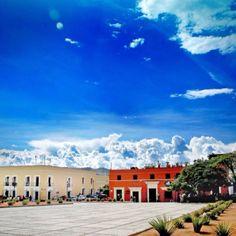 Atrio de la Iglesia de Santo Domingo, Ciudad de Oaxaca