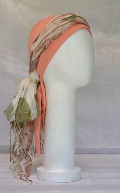 Turbante para quimioterapia/chemo scarf/ 100% algodon/ cómodos/ alegres Scarf, Shopping, Turbans