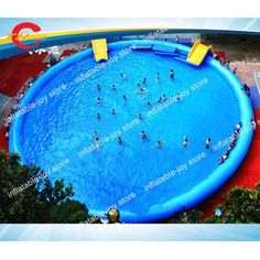 Commercial kids and Adults inflatable swimming inflatable amusement park, inflatable water pool(China) Backyard Water Parks, Small Backyard Pools, Swimming Pools Backyard, Above Ground Pool, In Ground Pools, Piscina Intex, Pool Prices, Inflatable Bouncers, Pool Floats