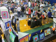 2013 LISD art show; featured here is my school; Steiner Ranch Elementary.