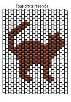 Une série de 4 , sur 24 de peyote. Ils conviennent parfaitement au format de la tirelire . Cliquer sur les images pour les agrandir...