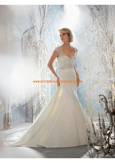 Wedding Dresses, Bridesmaid Dresses, Prom Dresses and Bridal Dresses Mori Lee Wedding Dresses - Style 1954 - Mori Lee Wedding Dresses, Fall Style 1954 Crystal Beaded Embroidery Overlaying Lustrous Satin. Mori Lee Bridal, Mori Lee Wedding Dress, Wedding Dress Styles, Bridal Dresses, One Shoulder Wedding Dress, Wedding Gowns, Bridesmaid Dresses, Prom Dresses, Dresses 2014