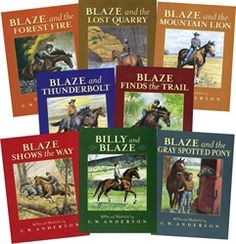 Billy and Blaze series by C.W. Anderson - I used to read these to my son when he was little and then go out and ride our trails together...so special
