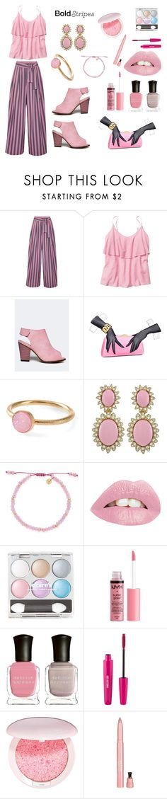 Untitled #434 by siriusfunbysheila1954 on Polyvore featuring Gap, Tome, Chase & Chloe, Moschino, Ciner, Pernille Corydon, Lola Rose, Guerlain, Stila and Charlotte Russe