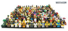 Series 1 to 10 - All the minifigures fits on a gray plate Singing Monsters, Grey Plates, Lego People, Hello Everyone, Legos, My Images, Hack Online, Pta, Username