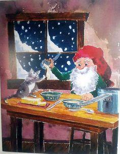 Alan Furst's Tomten Christmas - Porridge Price $4.99 http://efairies.com/alan-fursts-tomten-christmas-porridge/