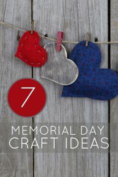Unique Memorial Day Crafts Holiday Crafts, Holiday Fun, Home Crafts, Fun Crafts, Crafts For Kids, Holiday Decor, Americana Crafts, Patriotic Crafts, Craft Party