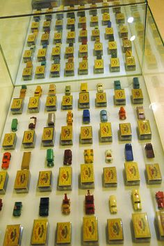 Original Matchbox Cars by Victor and Patricia Ocampo, via Flickr