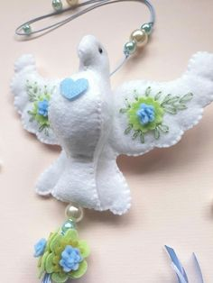 Felt Crafts Diy, Diy Crafts For Gifts, Sewing Crafts, Crafts For Kids, Christmas Calendar, Felt Embroidery, Christmas Crafts, Christmas Ornaments, Felt Birds