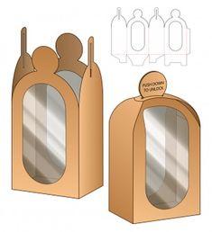 Box packaging die cut template Premium V. Diy Gift Box Template, Paper Box Template, Box Packaging, Packaging Design, Cupcake Packaging, Coffee Packaging, Paper Toys, Paper Crafts, Box Patterns