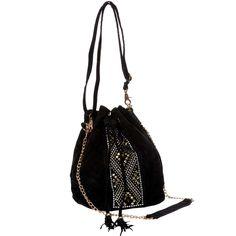 c842a1a64a Borsa secchiello effetto scamosciato con borchie Donna - Kiabi - 25,00€