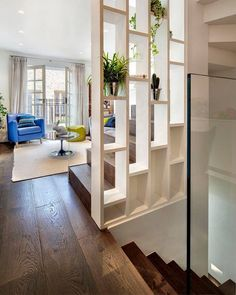 9 Prompt Tips: Room Divider Wall Beds room divider bedroom storage solutions.Room Divider Window Home Office room divider metal house. Mews House, House Design, House, Home, House Interior, Home Deco, Living Room Divider, Room Partition Designs, Stairs Design
