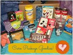 OPERATION: CHEER {Extraordinary Care Package Inspiration!}